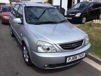 Kia carens 2.0 cdti turbo diesel 2006 facelift model 5 door mpv people carrier mot September 28