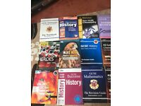 Variety of GCSE and A level textbooks. CHEAP!