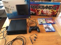 Playstation 4 (PS4) Console and Games - Rarely used