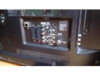 "LG 55"" HD 3D plasma TV"