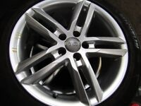 """AUDI A6 S-LINE 18""""ALLOYS WITH TYRES"""