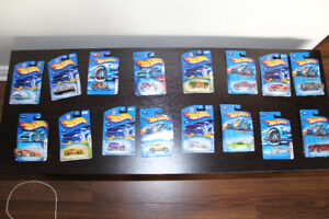 16 new hot wheels