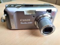 "5MP 4x Optical Zoom 2.0"" LCD Canon PowerShot A460"