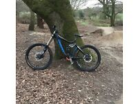 Giant glory downhill bike