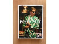 Poker face suit