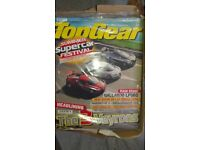 Box of Unopened Top Gear Magazines