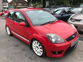2006/06FORD FIESTA 2.0 ST,3 DOOR,RED,LOW MILEAGE,MOT JUNE 2018,GREAT LOOKS,DRIVES REALLY WELL