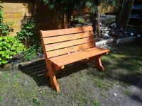 Garden Bench made from Pallet