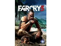 sony ps3 game -farcry3-just cause2-uncharted3