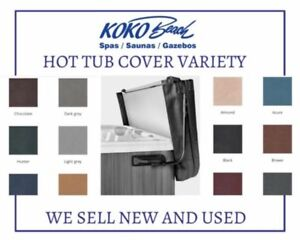 The Perfect Hot Tub Cover for Alberta. We sell NEW and USED