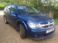 Dodge Journey with sensors and tow bar. Passed Mot in March, new tyres seven seater