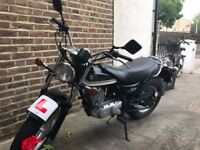 Suzuki Van Van 125cc Amazing Bike, Great condition, Perfect Starter Bike, NEW MOT, super cool