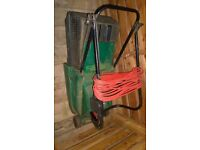 Qualcast turbo vac 30 electric lawn mower - for spares - repairs - not working!!