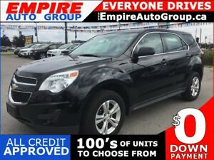 2015 CHEVROLET EQUINOX LS * POWER GROUP * LOW KM