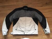 Alpinestars textile motorbike jacket XL