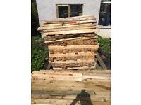 1.2 meters fence slats