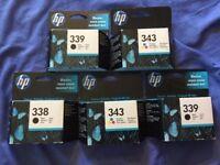 HP Printer ink (5 packs)