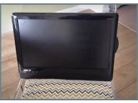 "Venturer 18.5"" HD digital LCD TV plus DVD"