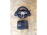 PS4 / PS3 steering wheel and pedals