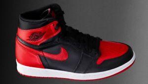 I'M LOOKING FOR JORDANS 1s BRED OG Black Red colorway