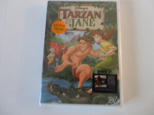 Tarzan And Jane Disney (DVD, 2002) Phil Collins Mandy Moore NIB