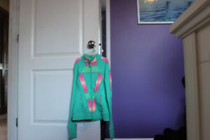 Ivivva Zip Up Jacket/Matching tank top