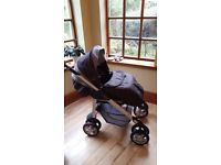 Silver Cross Pram, Car Seat and accessories
