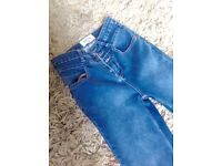 High waisted jeans (size 8)