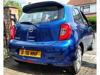 Nissan Micra 1.2 2016 Blue