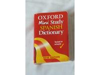Spanish Mini Dictionary (ideal for KS2 - A Level students)