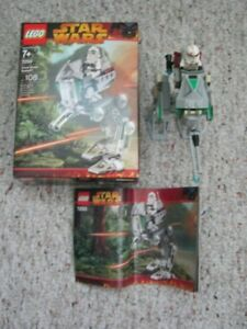 LEGO STAR WARS CLONE SCOUT WALKER 7250 - COLLECTIBLE