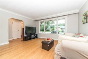 This Well Appointed Bungalow Sits On A Pool Size 62'X135' Lot