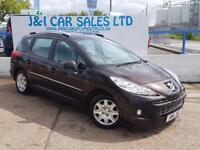 PEUGEOT 207 1.6 HDI SW ACTIVE 5d 92 BHP A LOW PRICE DIESEL WIT (red) 2011