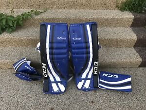 Goalie Pads - Blocker - Glove