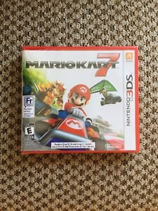 Mario Kart 7 Brand New and Sealed for Nintendo 3DS 2DS