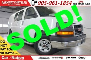 2015 GMC Savana 2500 1WT| STABILITRAK| PWR LOCKS| READY TO WORK|