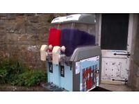 Twin Commercial Slushy Ice Drinks Machine Slush Puppie Catering Cafes