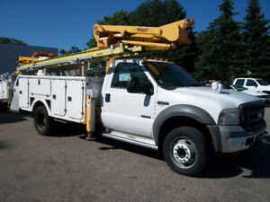 SOLD 2005 FORD F550 BUCKET TRUCK  SOLD
