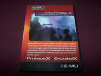 EMU , E-MU Mo' Phatt X ESC Sound Library DVD.