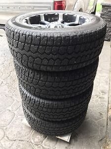 275/60 R20 MKW Rims and Studded M+S Winters