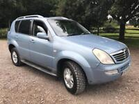 Ssangyong Rexton 114k 2.7 Diesel Automatic 4 x 4