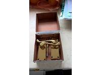 Brass door handles (5 pairs available)