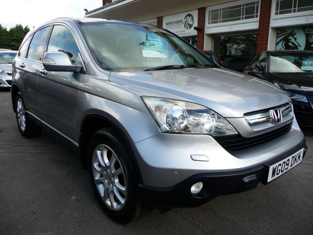 Honda Cr V 2 I Ctdi Ex 5d 139 Bhp Reduced By Pound 500 Silver 2009