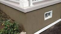 parging and re pointing