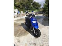 Piaggio Typhoon 50cc 2007 learner legal moped