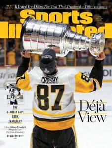 Sidney Crosby Sports Illustrated June 2017 RARE!