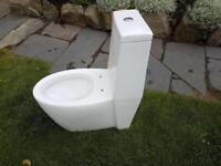 Designer toilet. Never used.