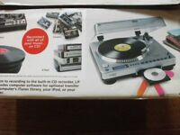 ION LP 2 CD turntable with inbuilt CD recording