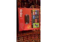 Brand New Roku 3 4200EU with 3 month NOW TV pass