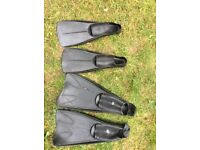Adult Flippers size 8-9